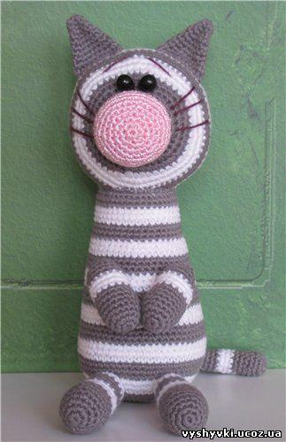 кот арсений вязаная игрушка схемы вязания крючком вязание