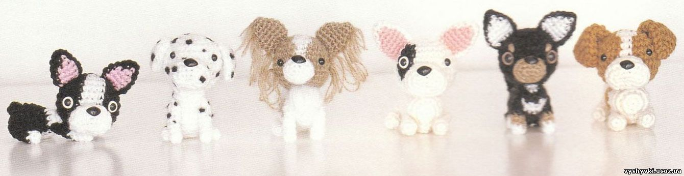 Ami Ami Dogs 2 Вязаные игрушки