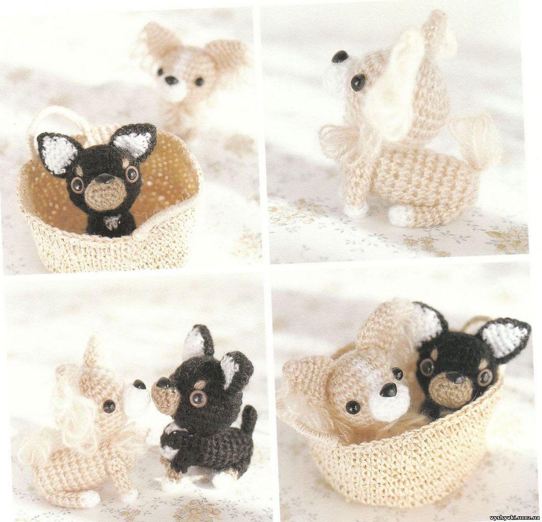 Ami Ami Dogs 2 вязаные игрушки собачки амигуруми собаки