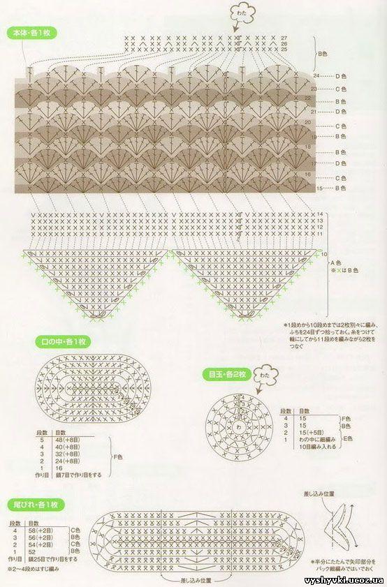 Детские схемы-рисунки для вязания спицами. Обсуждение на 48