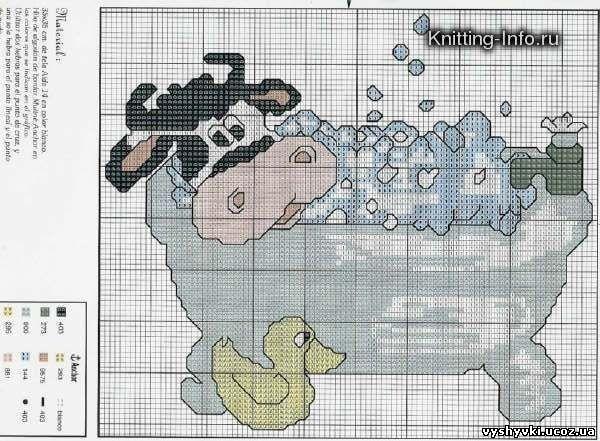 Корова купается