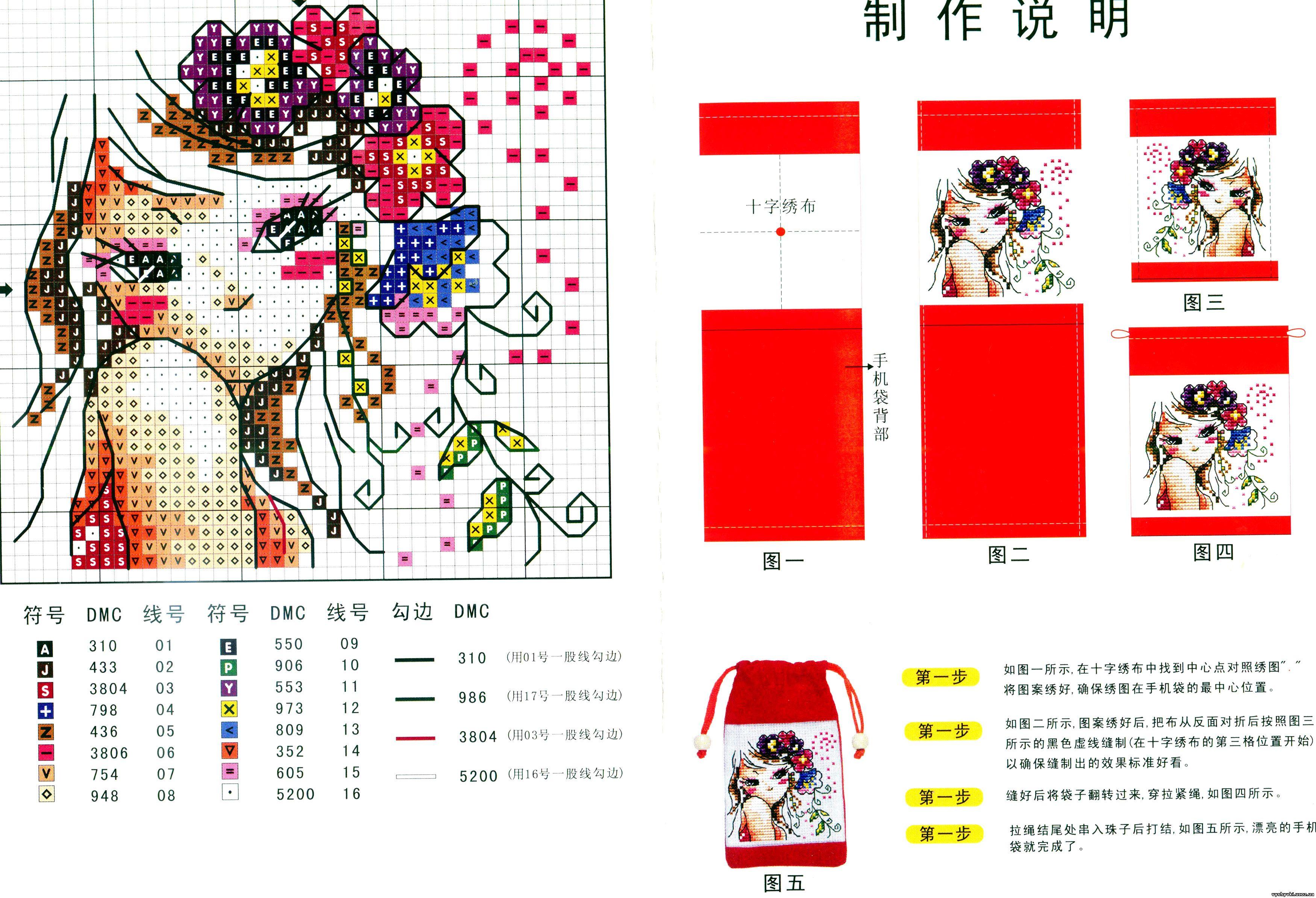 Обложки на паспорт схемы для вышивки крестом 70