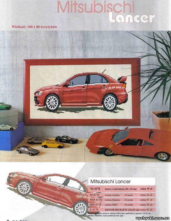 Автомобиль Mitsubischi Lancer